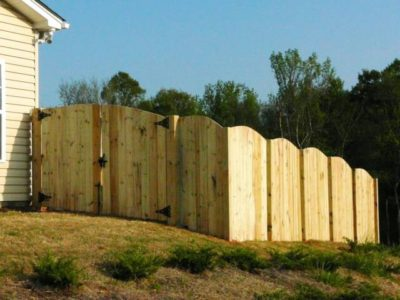 Privacy Fence Wood