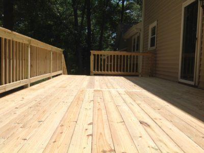 Deck Greenville SC