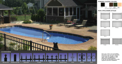 Pool Aluminum Fence